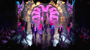 Choreography for Lido in Paris